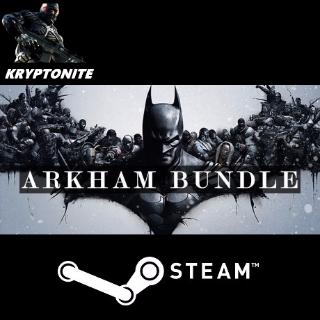 🎮 Batman Arkham Complete - STEAM CD-KEY Global