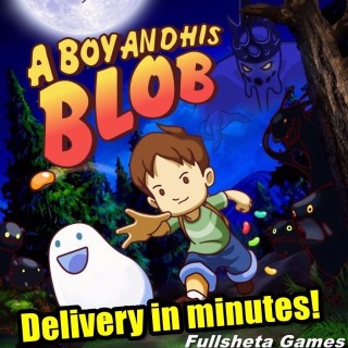 A Boy and His Blob (PC/Steam) Worldwide digital code 🅺🆁🆈🅿🆃🅾🅽🅸🆃🅴