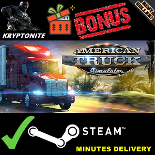 American Truck Simulator Steam Key GLOBAL