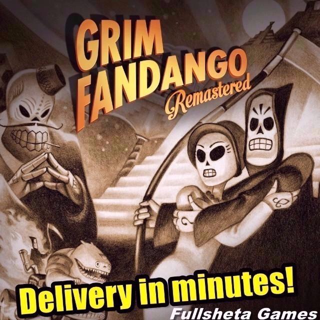 Grim Fandango Remastered (PC/Steam) Worldwide digital code 🅺🆁🆈🅿🆃🅾🅽🅸🆃🅴