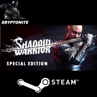 🎮 Shadow Warrior: Special Edition - STEAM CD-KEY Global