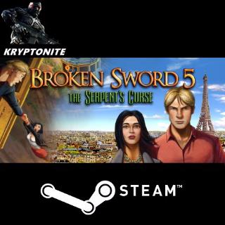 🎮 Broken Sword 5 - STEAM CD-KEY Global