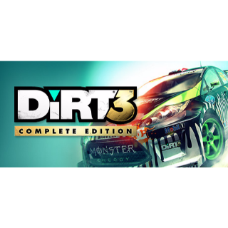 DiRT 3 COMPLETE EDITION *Fast Delivery* Steam Key - 𝐹𝑢𝑙𝑙 𝐺𝑎𝑚𝑒