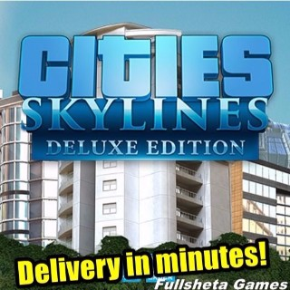 Cities: Skylines Deluxe Edition [+Surprise] (PC/Steam) Digital code 🅺🆁🆈🅿🆃🅾🅽🅸🆃🅴