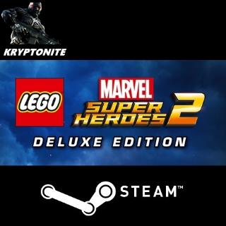 Lego Marvel Super Heroes 2 Deluxe + 𝐄𝐥𝐢𝐭𝐞 𝐛𝐨𝐧𝐮𝐬 [x2 Steam keys] *Fast* - 𝐅𝐮𝐥𝐥 𝐆𝐚𝐦𝐞𝐬