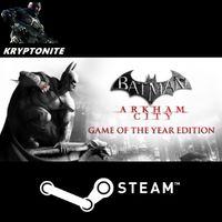 Batman: Arkham City GOTY Edition + 𝐄𝐥𝐢𝐭𝐞 𝐛𝐨𝐧𝐮𝐬 [x2 Steam keys] *Fast* - 𝐅𝐮𝐥𝐥 𝐆𝐚𝐦𝐞𝐬