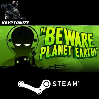 🎮 Beware Planet Earth - STEAM CD-KEY Global