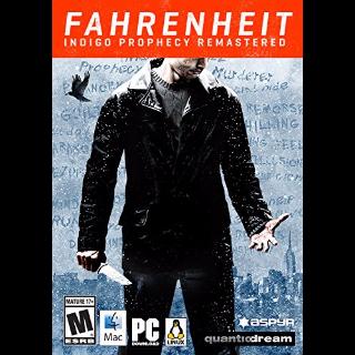 Fahrenheit: Indigo Prophecy Remastered *Fast Delivery* Steam Key - 𝐹𝑢𝑙𝑙 𝐺𝑎𝑚𝑒