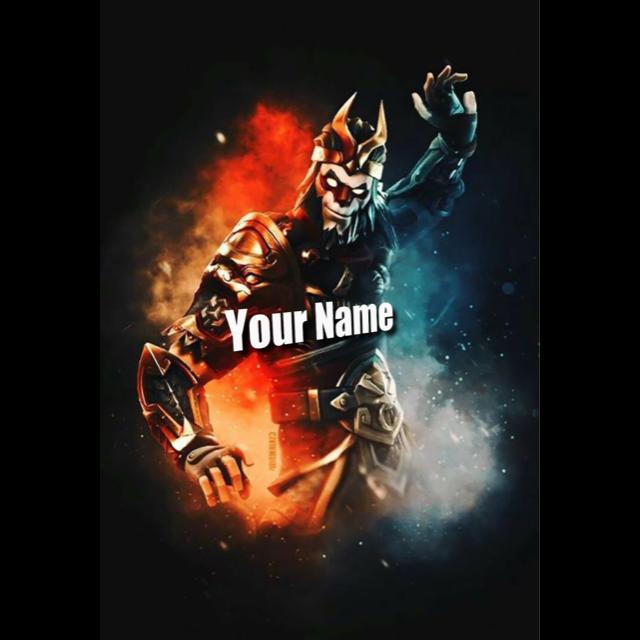 I will I Will Create Fortnite Logo For You