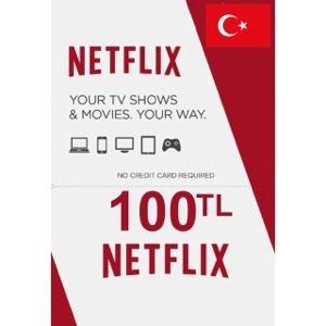 Tukey Netflix card 100TL