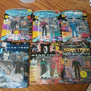 Star Trek Figures (Playmates)