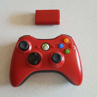 Red Wireless 360 Controller