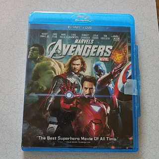 Marvel's The Avengers Blu-ray Only