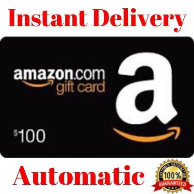 $100.00 Amazon (INSTANT DELIVERY)
