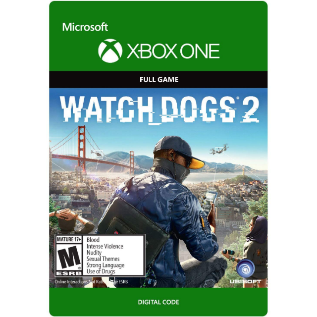 Watch Dogs 2 for Xbox One - XBox One Games - Gameflip
