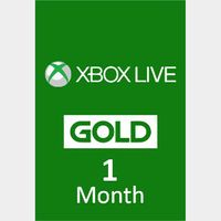 Xbox Live 1 Month Gold [GLOBAL]
