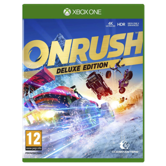 Onrush Digital Deluxe Edition Uk Auto Delivery Xbox One