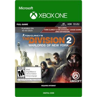 The Division 2 - Warlords of New York Edition (US) [Auto Delivery] Xbox One/Xbox Series X|S