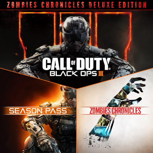Call Of Duty Black Ops Iii Zombies Deluxe Xbox One Games