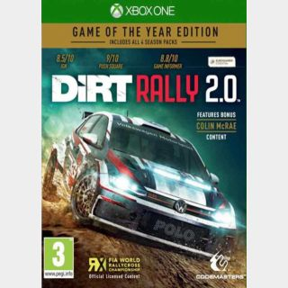DiRT Rally 2.0 Game of the Year Edition (US) [Auto Delivery] Xbox One/Xbox Series X|S