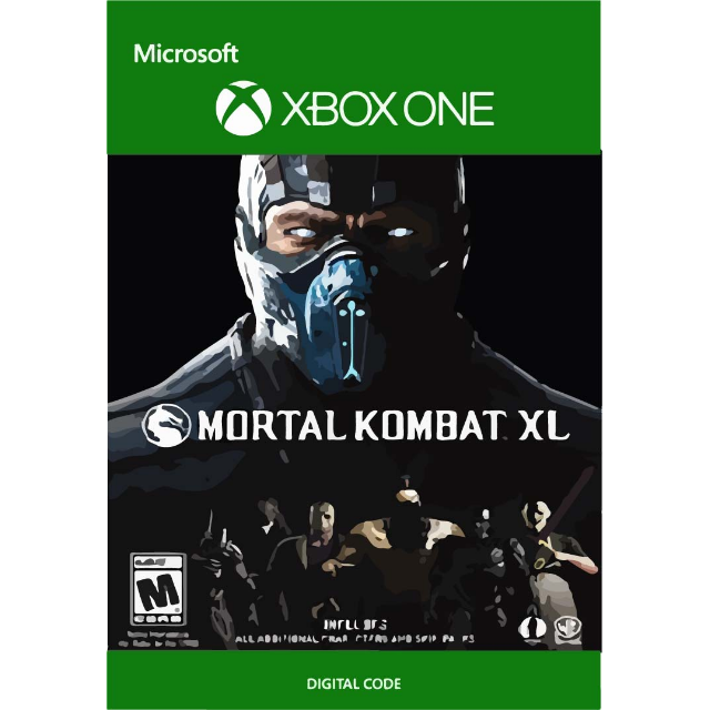MORTAL KOMBAT XL digital code for Xbox One - XBox One Games