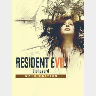 RESIDENT EVIL 7 biohazard Gold Edition (US) [Auto Delivery] Xbox One/Xbox Series X|S/ Windows 10