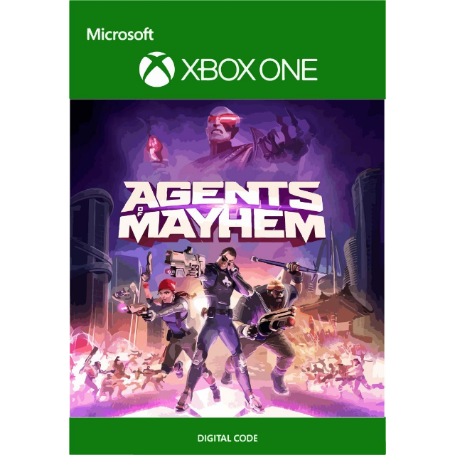 Agents of Mayhem for Xbox One - XBox One Games - Gameflip