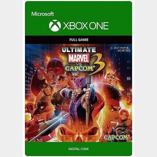 ULTIMATE MARVEL VS. CAPCOM 3 (US) [Auto Delivery] Xbox One/Xbox Series X|S