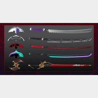 [US]SCARLET NEXUS: Weapon Bundle - PS5