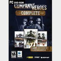 Company Of Heroes Bundle Steam Key/Code Global
