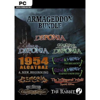 The Daedalic Armageddon Bundle Steam Key Global