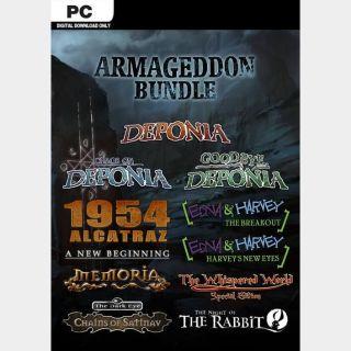The Daedalic Armageddon Bundle Steam Key Global