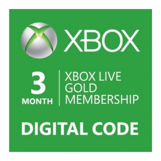 XBOX LIVE GOLD 3 month membership Xbox Key/Code