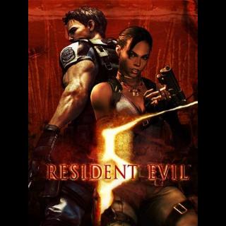 Resident Evil 5 Steam Key GLOBAL