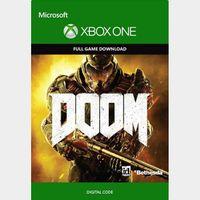 Doom 2016 Xbox One Key/Code Global