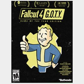 Fallout 4: Game of the Year Edition Steam Key GLOBAL