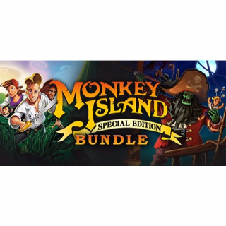 Monkey Island: Special Edition Bundle Steam CD Key