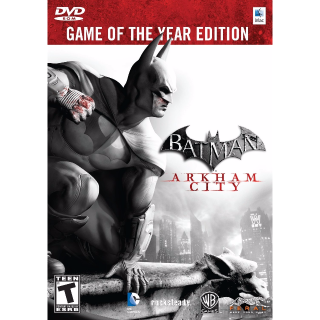 Batman: Arkham City Game Of The Year Edition Steam Key Global