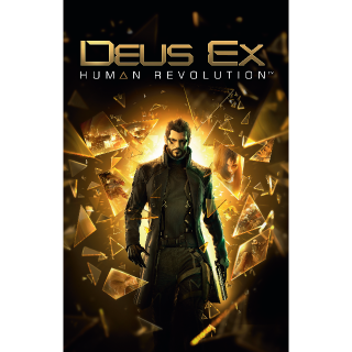 Deus Ex Human Revolution Steam CD Key Global