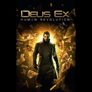 Deus Ex Human Revolution Steam CD Key Global