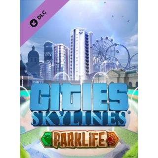 Cities: Skylines - Parklife Steam Key GLOBAL
