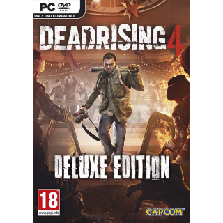 Dead Rising 4 Deluxe Edition Steam Key GLOBAL