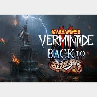 Warhammer: Vermintide 2 Back to Ubersreik Steam Key GLOBAL