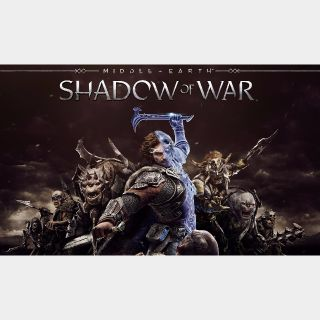 Middle Earth Shadow Of War Steam Key Global PC