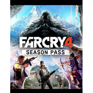 Far Cry 4 Season Pass Uplay Key Global