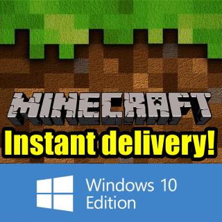 Minecraft: Windows 10 Edition CD-KEY [InstantDelivery\RegionFree]