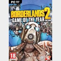 Borderlands 2 Game of the Year Edition Steam Key/Code