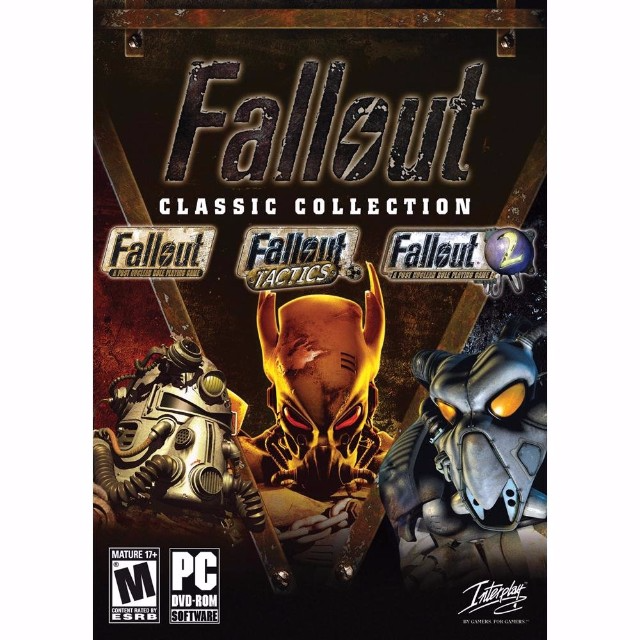 FALLOUT CLASSIC COLLECTION STEAM CD KEY