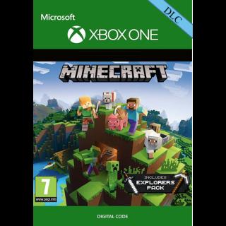 Minecraft: Explorers Pack Xbox One Key/Code Global