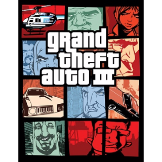 Grand Theft Auto III 3 Steam Key